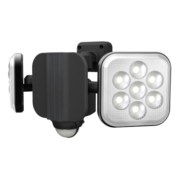 LED-AC2016 RITEX 8W×2灯<ハロゲン300W相当> フリーアーム式LEDセンサーライト | 防犯 | 夜間 | 威嚇 | 空き巣対策 | 泥棒対策
