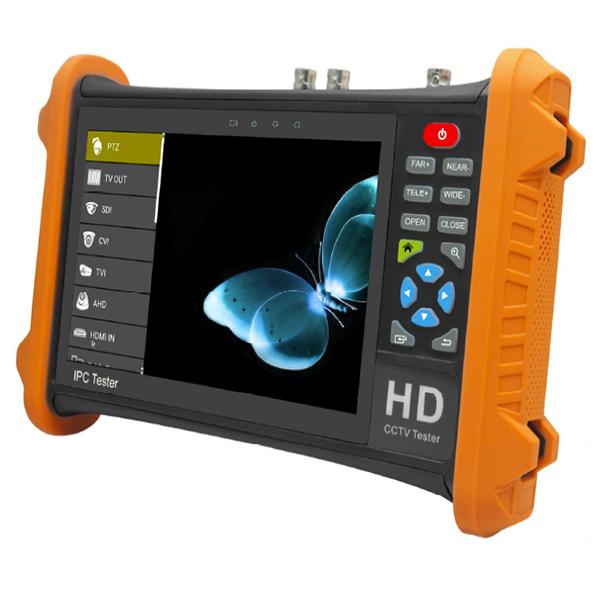 XPCLD-HD72AT AHD 5Mp, TVI 8Mp, CVI 8Mp をサポート!7インチタッチスクリーン現場調査用モニター