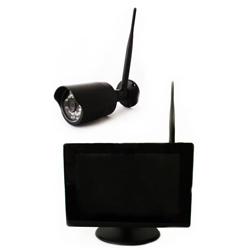 W-CAM-DVR-SET ハイビジョンワイヤレスカメラ1台とネットワーク配信機能搭載録画機能付き9インチ液晶モニターセット
