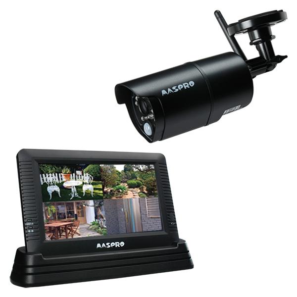 【エントリーでポイント5倍!】WHC7M マスプロ製 録画機能付きモニター&ワイヤレスカメラセット | 防犯カメラ | 監視カメラ | ネットワークカメラ | IPカメラ | ホームセキュリティ | スマートフォン |スマホ