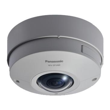 【エントリーでポイント5倍!】WV-SFV481 アイプロシリーズ 9メガピクセル 全方位ネットワークカメラ パナソニック(Panasonic) | ネットワークカメラ | IPカメラ | WEBカメラ | 防犯カメラ | 監視カメラ | 遠隔監視