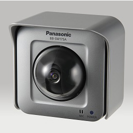 【メーカー欠品中 パナ納期未定】BB-SW175A パナソニック カメラBB 屋外タイプ 無線LAN対応 HD(720p)  | ネットワークカメラ | IPカメラ | WEBカメラ | 防犯カメラ | 監視カメラ | 遠隔監視