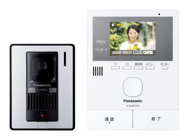 VL-SVD302KL パナソニック テレビドアホン 親機・玄関子機【電池屋の日対象】