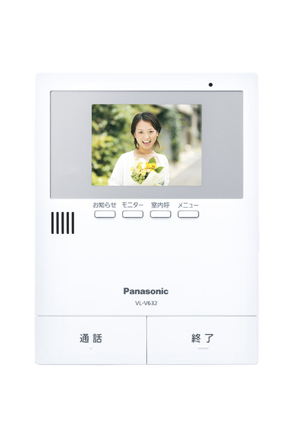 VL-V632K パナソニック テレビドアホン用増設モニター(電源コード式、直結式兼用)【電池屋の日対象】