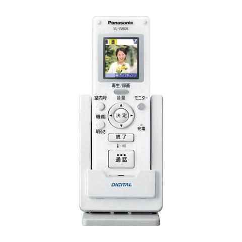 VL-W605 パナソニック ワイヤレスモニター子機【電池屋の日対象】