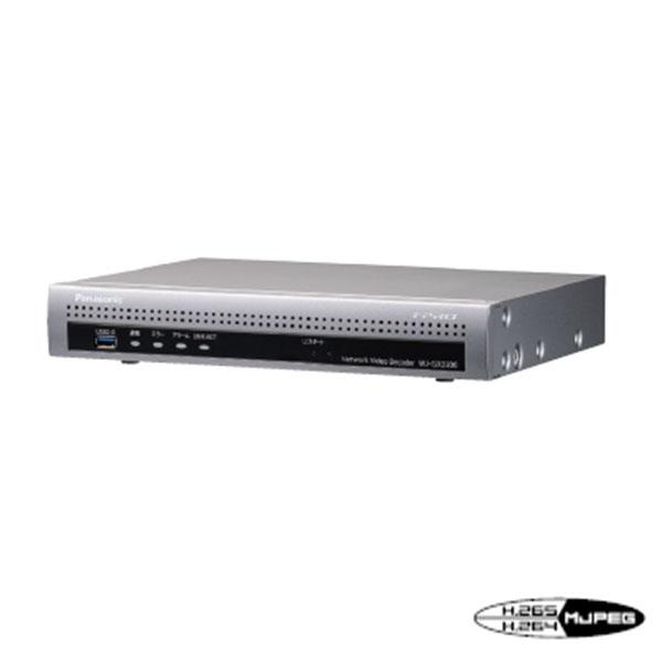 【12月発売予定】パナソニック アイプロ H.265カメラ対応!ネットワークビデオデコーダー WJ-GXD300