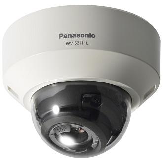 【メーカー欠品中 パナ納期未定】WV-S2111L パナソニック アイプロ インテリジェントオート(iA)機能により識別性を向上した 屋内ドームネットワークカメラ