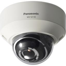 WV-S2130 パナソニック アイプロ スマートコーディング技術で最大50%データ量削減!フルハイビジョン 屋内ドームネットワークカメラ【電池屋の日対象】