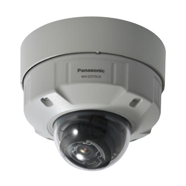 【2019年7月発売予定】WV-S2570LNJ パナソニック アイプロ 4K解像度監視! 屋外対応 ドーム型ネットワークカメラ