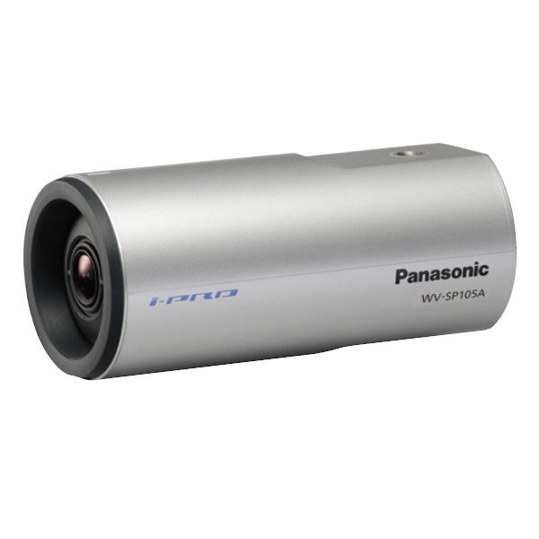 【エントリーでポイント5倍!】WV-SP105A パナソニック 威圧感の少ない円筒形採用!定点配信にも便利なHDネットワークカメラ   IPカメラ   WEBカメラ   防犯カメラ   監視カメラ   遠隔監視