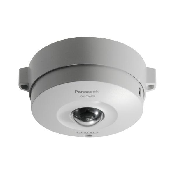 【4月おすすめ】WV-SW458 パナソニック アイプロ 耐衝撃・防塵/防雨設定!3メガピクセル フルHD対応! 屋外対応全方位ネットワークカメラ | IPカメラ | WEBカメラ | 防犯カメラ | 監視カメラ | 遠隔監視