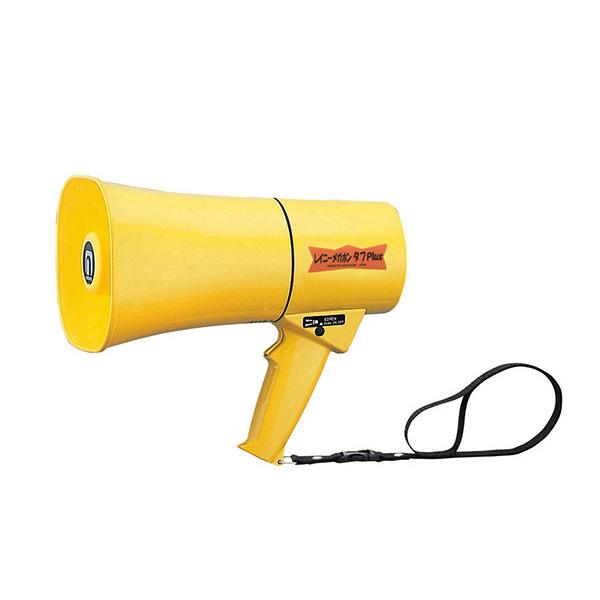 TS-633 noboru(ノボル電機製作所) レイニーメガホン タフPlus(6W) サイレン音付 | 拡声器 | メガホン | イベント | 運動会 | 避難訓練 | 誘導 | 防災 | 演説 | 学校 | 消防