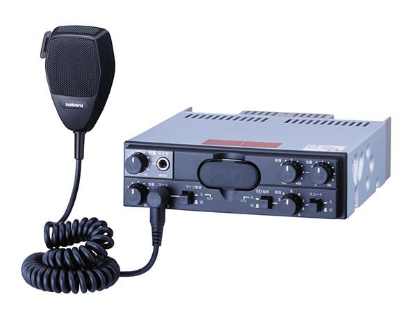 YD-341B noboru(ノボル電機製作所)車載用拡声装置 SDカードプレーヤー付PAアンプ 40W DC12V