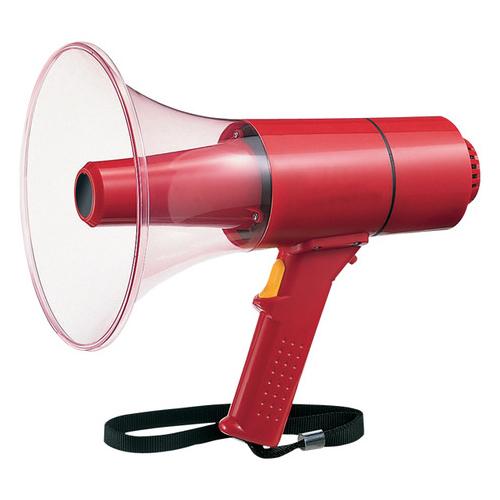 WD-U74 パナソニック(Panasonic) 15W サイレン付非常用メガホン | 拡声器 | メガホン | イベント | 運動会 | 避難訓練 | 誘導 | 防災 | 演説 | 学校 | 消防