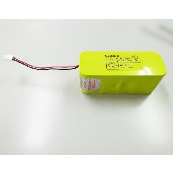 10N-1200SCK相当品 W型 コネクター付き  12V1200mAh SANYO相当品 電池屋組電池