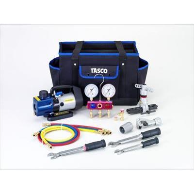 【納期未定】TA21AB イチネンTASCO R410A/R32エアコン工具セット