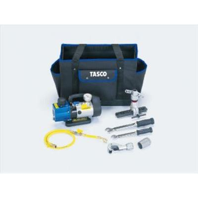 TA21BB イチネンTASCO エアコン工具セット(新規据付真空引きセット)