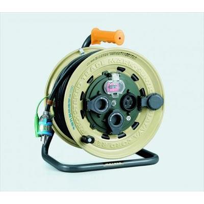 屋外型漏電遮断器付コードリール イチネンTASCO TA649SB