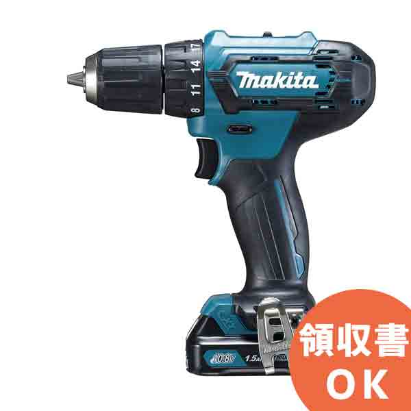 DF333DSHX (DF331DSHX 後継品) マキタ(MAKITA) 充電式ドライバドリル 10.8V/1.5Ahスライド式充電池・充電器・ケース付 | 電動工具 | DIY | 日曜大工 | 作業用品 | 現場用品