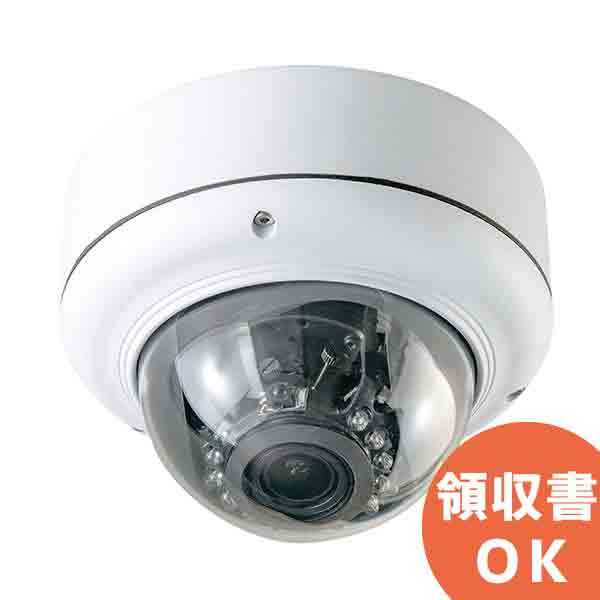 ASD-02 キャロットシステムズ SDカードに直接録画!フルハイビジョン撮影! 視野角調整可能 赤外線暗視機能付 屋外防犯ドームカメラ | 監視カメラ | 防犯カメラ