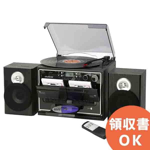 TCD-389W ミムゴ 全ての音源をカセットに簡単録音!木目調 ダブルカセットダビングプレーヤー