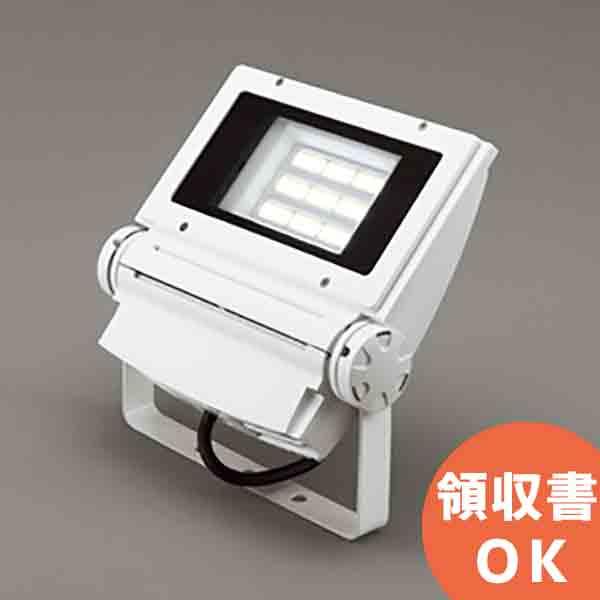 XG254335 オーデリック 水銀灯400W相当 130W 昼白色 防雨型 屋外用LEDハイパワー投光器 オフホワイト