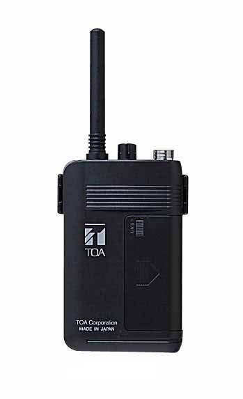 TOA(ティーオーエー・トーア) WF-101 連絡用無線システム 携帯機