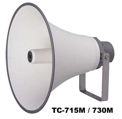 TC-730AM TOA ホーンスピーカー 30W トランス付 30W L級 N108<代引不可>【時間指定不可】