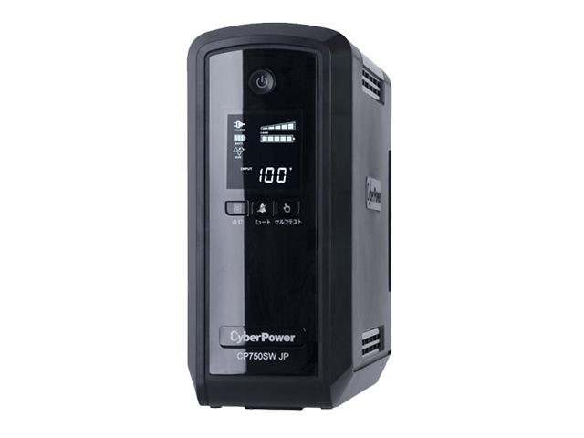 CP750SWLT JP CyberPower(サイバーパワー) CR750 750VA/525W 正弦波 ラインインタラクティブ <メーカー直送品>【製品保証:3年先出しセンドバック】| UPS | 無停電電源装置 | 防災 | 保守 | 保護 | 地震 | 雷 | カミナリ【時間指定不可】