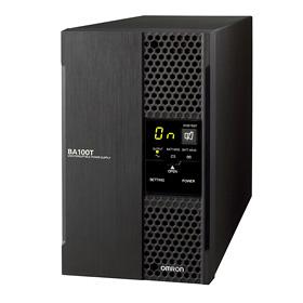 BA75T オムロン 常時インバータ給電方式UPS(無停電電源装置)で このサイズ出力容量750VA/600W