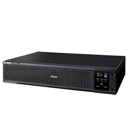 BU100RS オムロン 通信/HUB/ネットワークラックに収まるフロントマウント向けUPS(無停電電源装置) 出力容量1000VA/800W