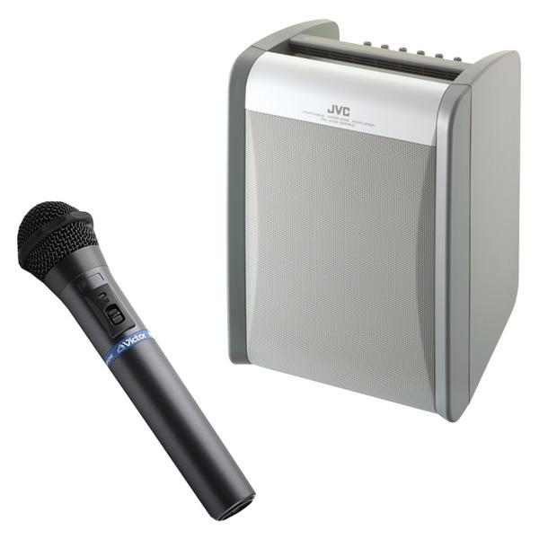 PE-W51SCDB-M ビクター シングル1波 標準対応 800MHz CDプレーヤー内蔵 シングルチューナー(WT-U85)1台組込 ワイヤレスマイク(WM-P970)1本同梱 ワイヤレスアンプ | イベント | お祭り | 運動会 | 司会 | 講演 | セミナー | 会議