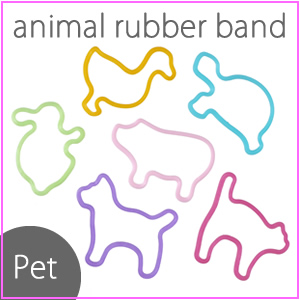 Rubber bands / stationery