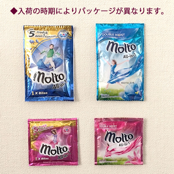 MOLTO 몰트 올인원 핑크(13 ml) 세탁 향기 시험 아시안 발리 유니 챰