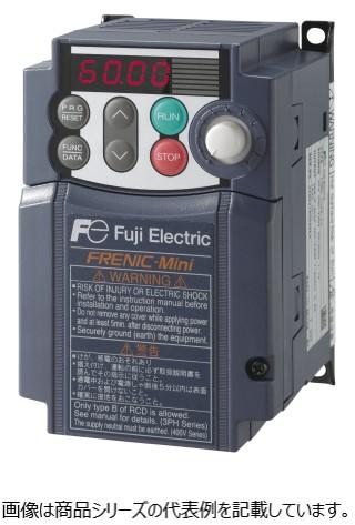 使いやすさを追求したインバータMiniシリーズ! 富士電機■形式:FRN3.7C2S-4J (RGC4204)コンパクト形インバータ FRENIC-Mini Series入力電源:3相380~480V 50/60Hz標準適用モータ容量:3.7KW出力定格 定格容量:6.8KVA 電圧:3相380~480V(AVR機能付) 定格電流:9.0A