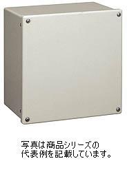 日東工業 FRP樹脂製プルボックス■型式:FRP150X150X150■色彩:Nベージュ色(5Y8/1)■取付基板:なし■カバー:ねじ止め式