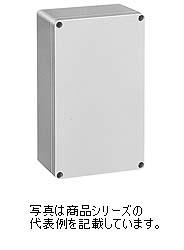 日東工業 PBEポリカボックスPBE12-1625G材質:ポリカーボネイト樹脂取付基板:鉄製基板(1.6MM)カバー:ねじ止め式