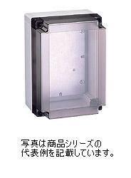 日東工業 PBHポリカボックスPBH10-1825G材質:ポリカーボネイト樹脂取付基板:鉄製基板(1.5MM)カバー:ねじ止め式(樹脂製)