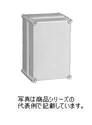 日東工業 PBSポリカボックスPBS18-1938G材質:ポリカーボネイト樹脂取付基板:鉄製基板(1.6MM)カバー:ねじ止め式(樹脂製)