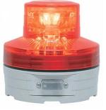 日恵製作所 電池式LED回転灯 ニコUFOφ76 赤色(自動タイプ) VL07B-003BR