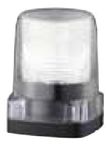 パトライト LEDフラッシュ表示灯定格電圧:DC48V 点滅回数:140回/分(トリプルフラッシュ)発光色:白色 LFH-48S-C