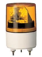 パトライト LED超小型回転灯■型式:RLE-220-Y■:定格電圧:AC220V■色:Y(黄)■消費電力:Max4.0W■閃光数:120回/分■質量:0.6kg