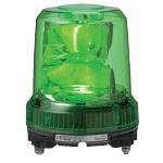 パトライト 強耐震大型LED回転灯■型式:RLR-M2-P-G■定格電圧:AC100~240V■色:G(緑)■消費電力:7.8W■閃光数:105回/分■質量:1.06kg