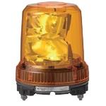 パトライト 強耐震大型LED回転灯■型式:RLR-M2-Y■定格電圧:AC100~240V■色:Y(黄)■消費電力:7.8W■閃光数:105回/分■質量:1.06kg