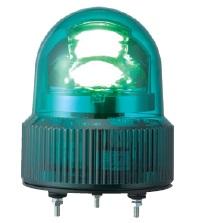 パトライト LED回転灯■型式:SKHE-100-G■定格電圧:AC100V■色:G(緑)■電流:0.042A■閃光数:120回/分■質量:0.6kg