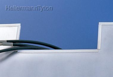 ヘラマンタイトン エッジ保護グロメット【色:乳白 標準グレード】【6ナイロン】TE-032