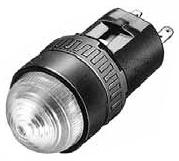 IDEC LED式小形表示灯■型式:AP6M222WPN10■定格使用電圧:DC24V■照光色:W(白)■形状:丸突形■発注単位:1パック(10個入り)単位