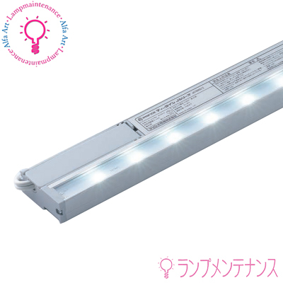 プリンス電機 JAT1160 LED 棚下照明器具(1160mm) ディーライン Jシリーズ Aタイプ 薄型 コンパクトサイズ設計 電源内蔵 マグネット取付 スライドフック取付  簡単施工【要工事】【送料140サイズ】