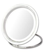【送料無料】 アイキャッチ 真実の鏡DX 電池式 EC004-5X 【業務用】【プロ仕様】 【拡大鏡】【LEDライト】