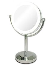 【送料無料】 アイキャッチ 真実の鏡DX 電池&ACアダプター式 EC005AC-5X 【業務用】【プロ仕様】 【拡大鏡】【LEDライト】